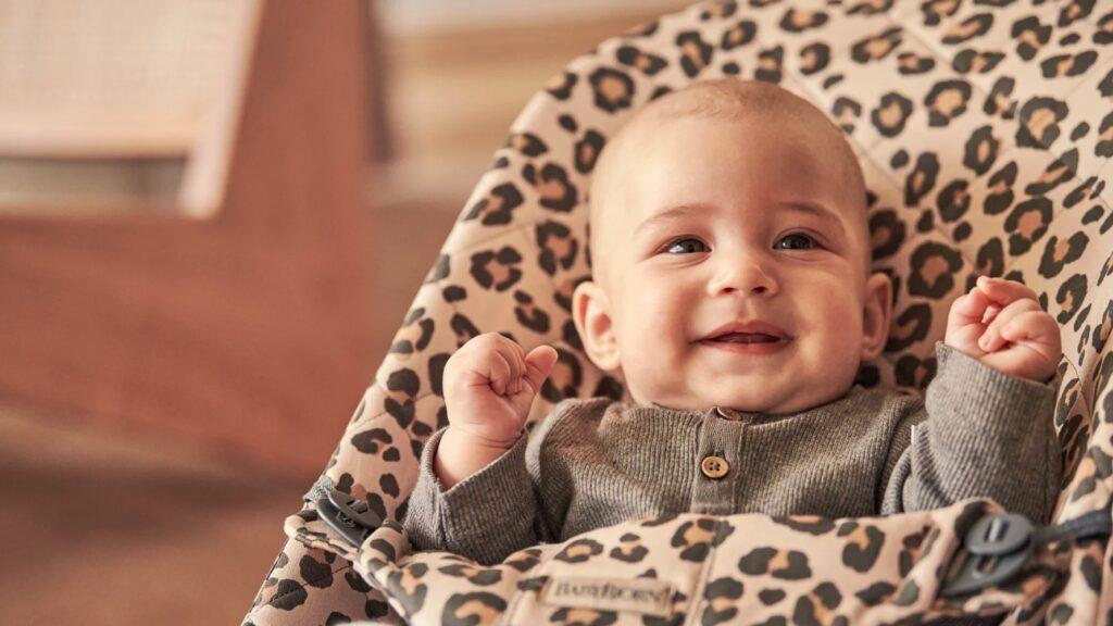 BabyBjörn Leopardprint