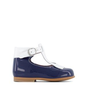 Jacadi Fringe T-Bar Lära Gå-skor Marinblå 21 (UK 4.5)