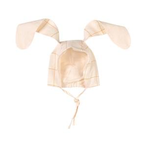 Oeuf Bunny Babymössa Gardenia/Checks 0-6 mån