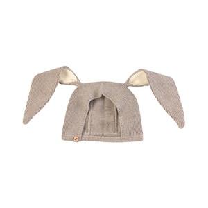 Oeuf Bunny Babymössa Grå 3-6 mån