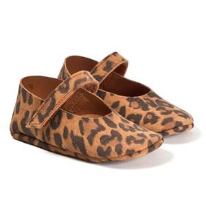Tocoto Vintage Suede Leopard Lära Gå-skor Bruna 16 EU