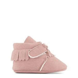 BabyMocs BabyMocs Little Adventurer Dust Pink 0-6 mån