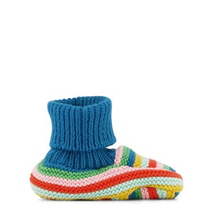 Frugi Briar Tossor Multi Rainbow Stripe 0-6 mån