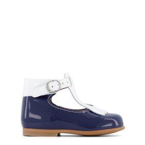 Jacadi Fringe T-Bar Lära Gå-skor Marinblå 23 (UK 6)