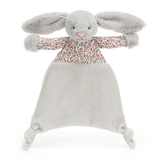 Jellycat - Snuttefilt Blossom Silver Bunny Comforter