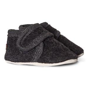 Melton Wool Velcro Tossor Anthracite 18-19